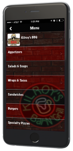 Kilroys Mobile Restaurant App